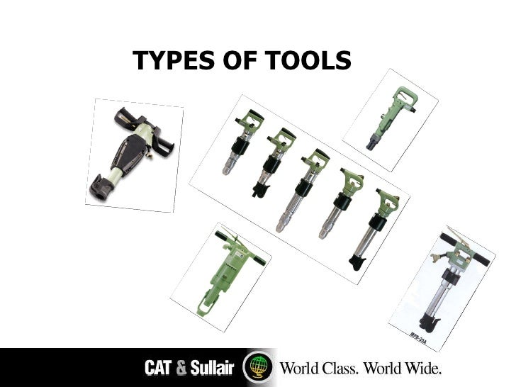 TYPES OF TOOLS