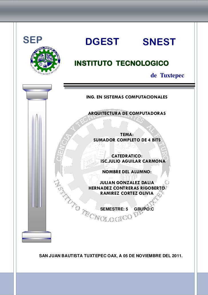 SEP                 DGEST                   SNEST                INSTITUTO TECNOLOGICO                                    ...