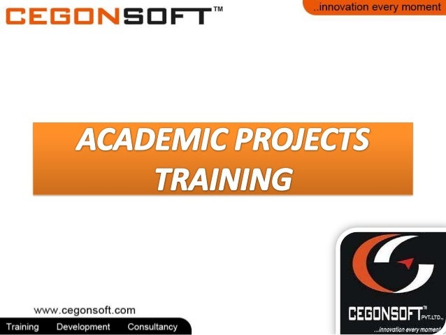 Academic projects skills training Bangalore