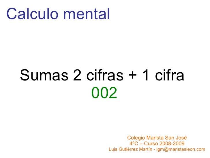 Sumas 2+1 002