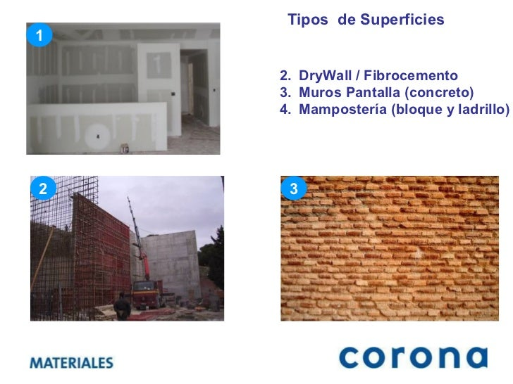 Acabado de muros interiores y exteriores - Tipos de muros ...