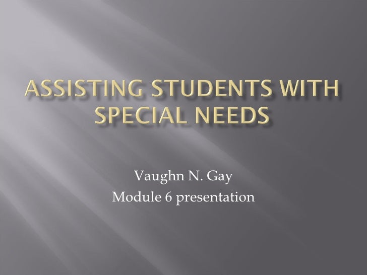 Vaughn N. Gay Module 6 presentation