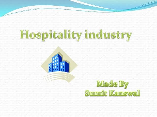 hospitality Industry