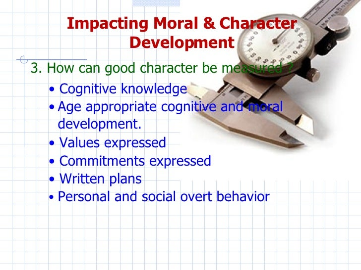 Promoting Moral Development - Harvard Education