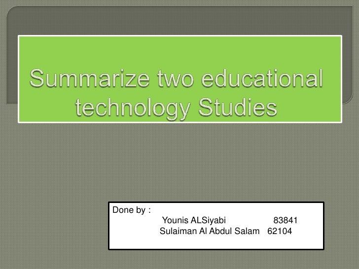 Done by :            Younis ALSiyabi          83841            Sulaiman Al Abdul Salam 62104