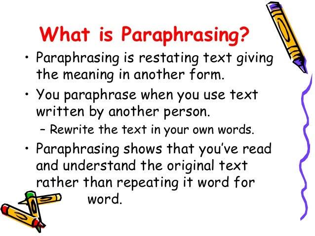 Summarizing text