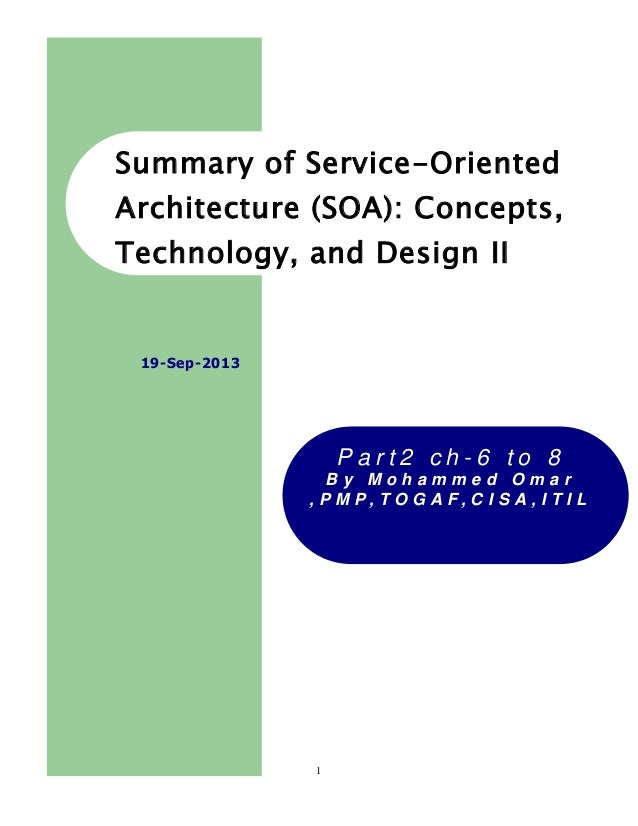 jsym service oriented architecture soa concepts technology and design.