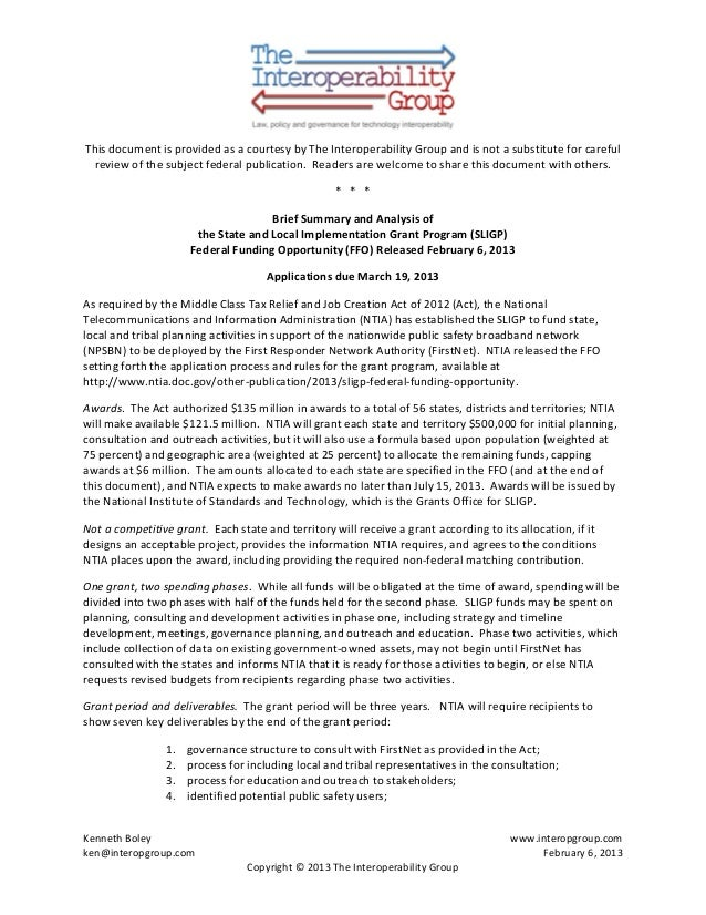 Summary and-analysis-of-ntia-public safety broadband planning grant