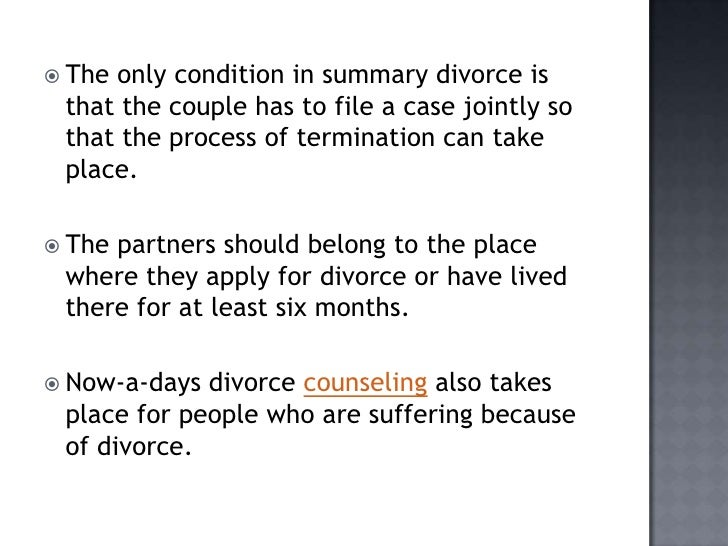 divorce in todays society essay