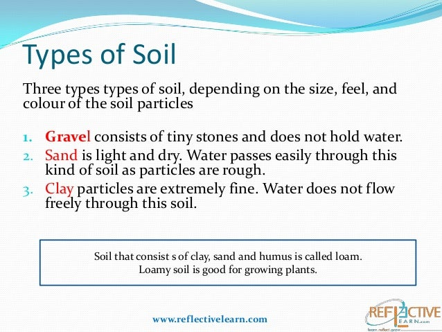 Pics for types of soil for kids worksheets for Soil information for kids