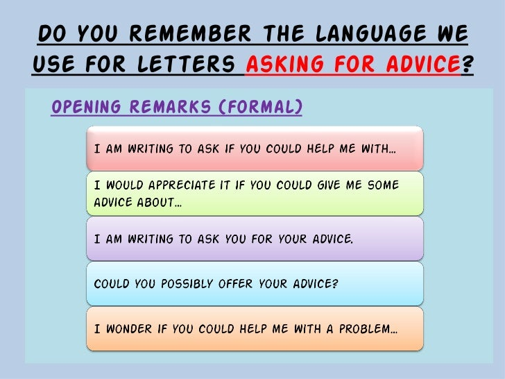 letter of advice co Adviceuk is a registered charity supporting the uk's largest network of independent advice services.