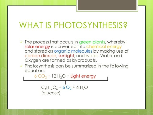 what is photosythesis Plants use a process called photosynthesis to make food during photosynthesis, plants trap light energy with their leaves plants use the energy of the sun to change.