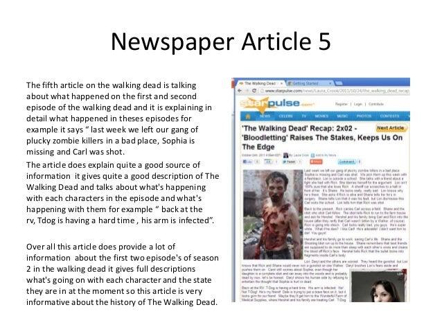 Summarize articles