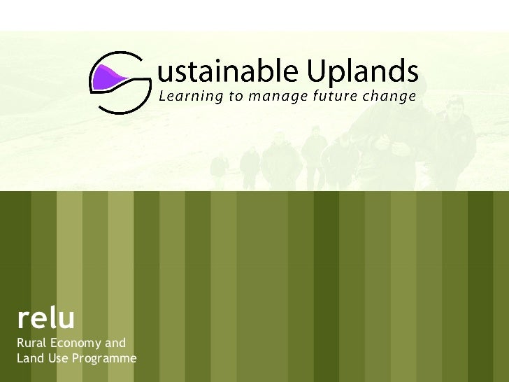 relu Rural Economy and Land Use Programme
