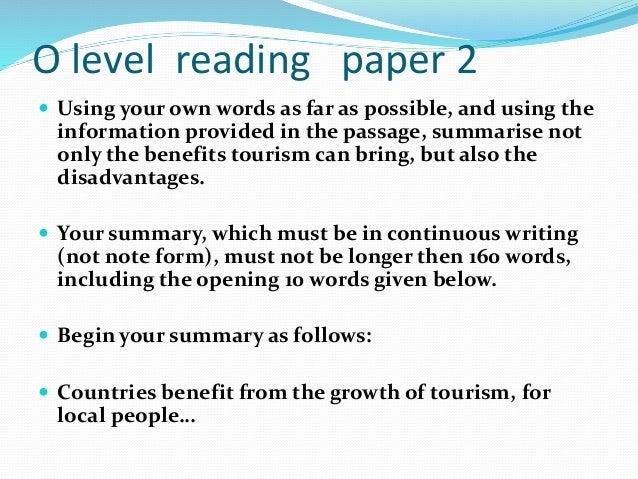 Gce O Level English Language Essays - image 5