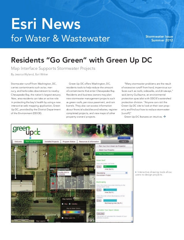 Esri Newsfor Water & Wastewater                                                                                           ...