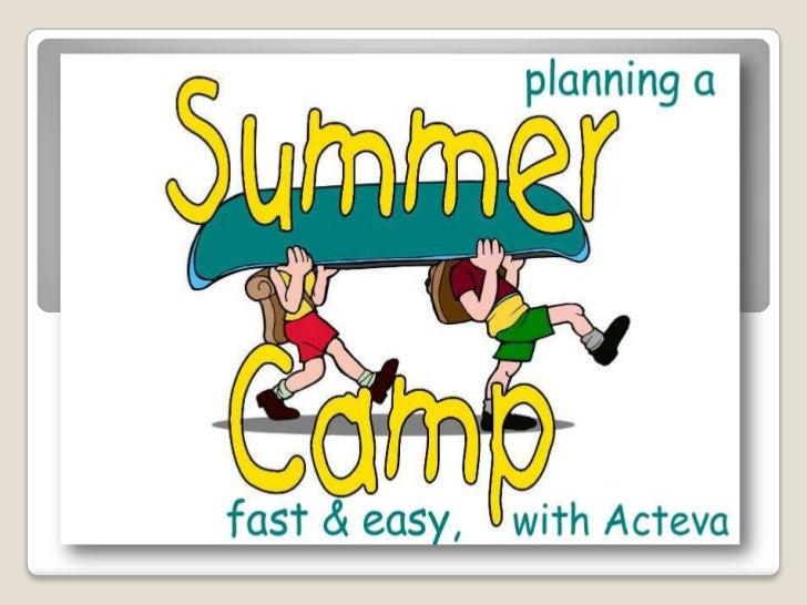 easy online summer camp registration