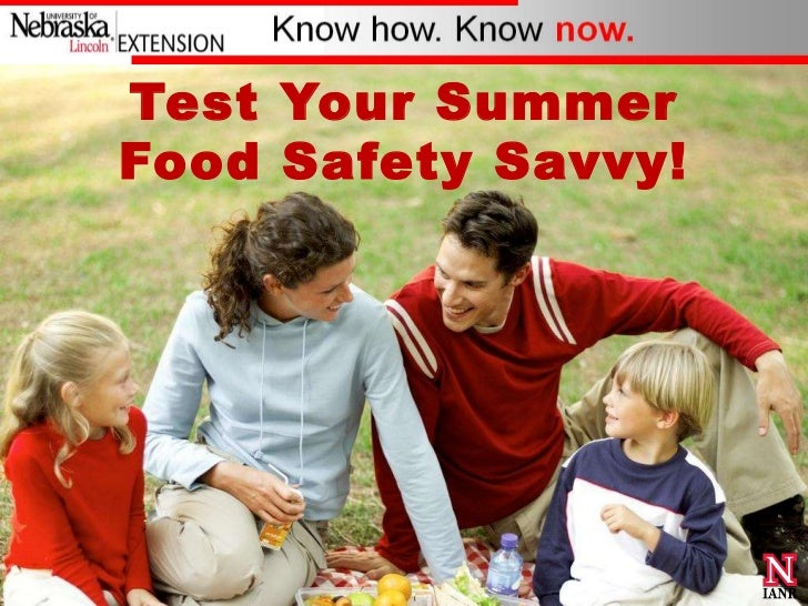 Test Your Summer Food Safety Savvy!<br />