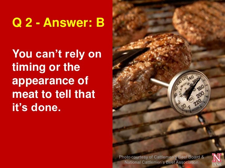 test your summer food safety savvy  quiz