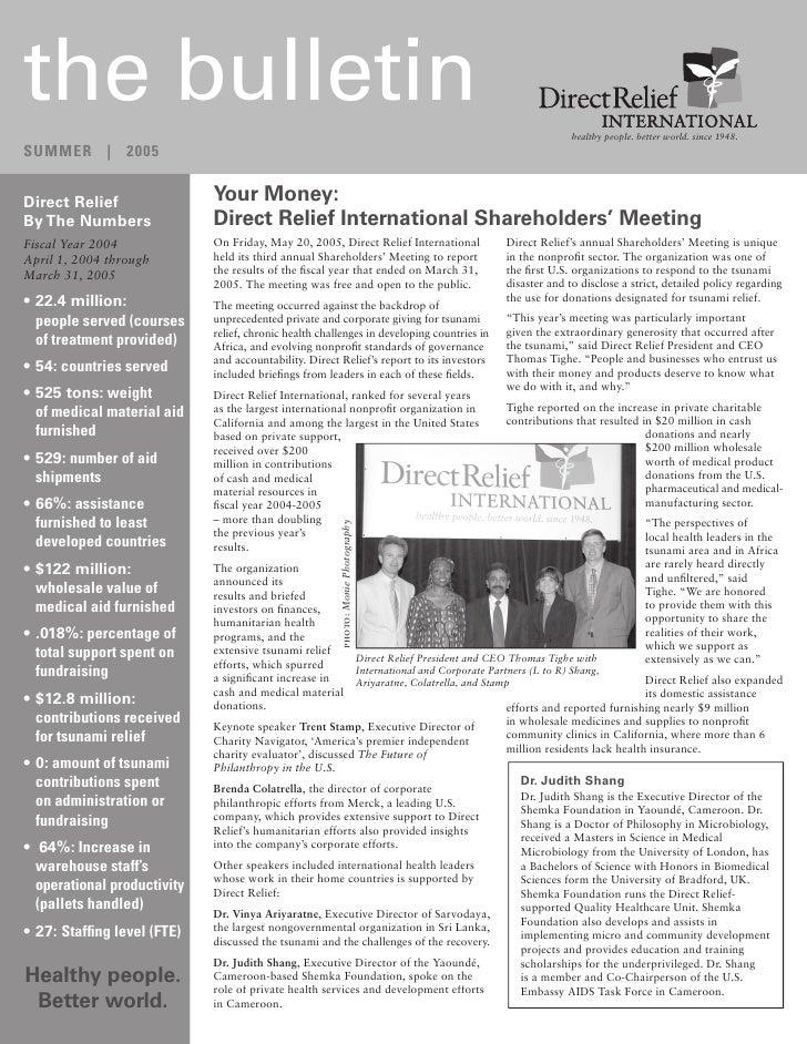 2005 Summer Newsletter