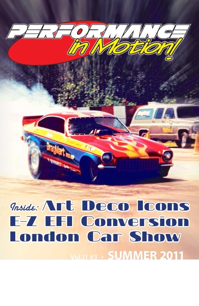 Summer 2011 - Performance in Motion automotive magazine