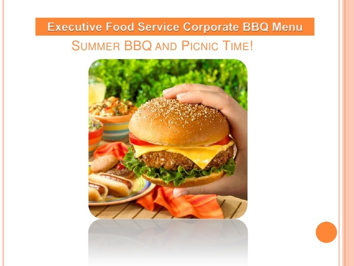 Summer Bbq And Picnic Flyer