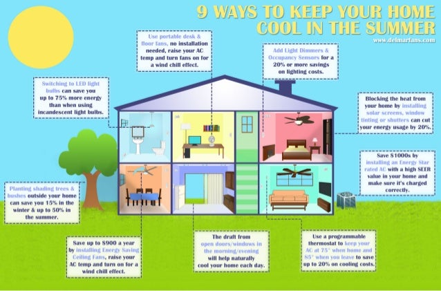 9 Ways To Keep Your Home Cool In The Summer