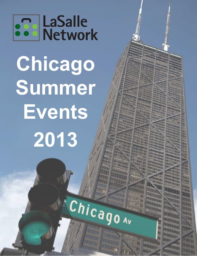 Summer events guide 2013