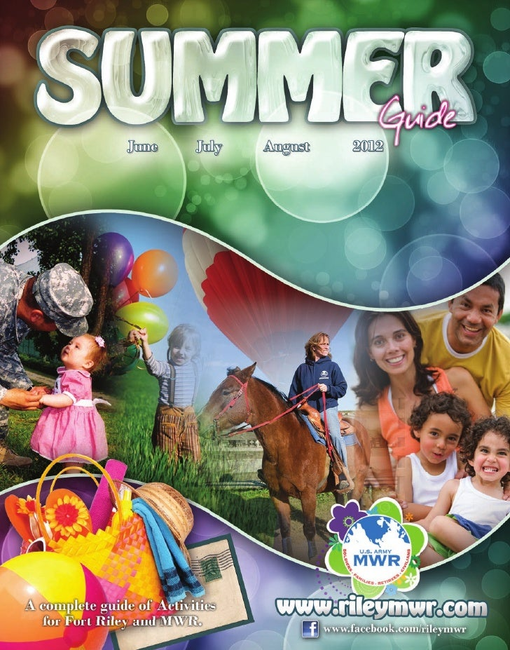 Fort Riley Summer MWR Guide 2012