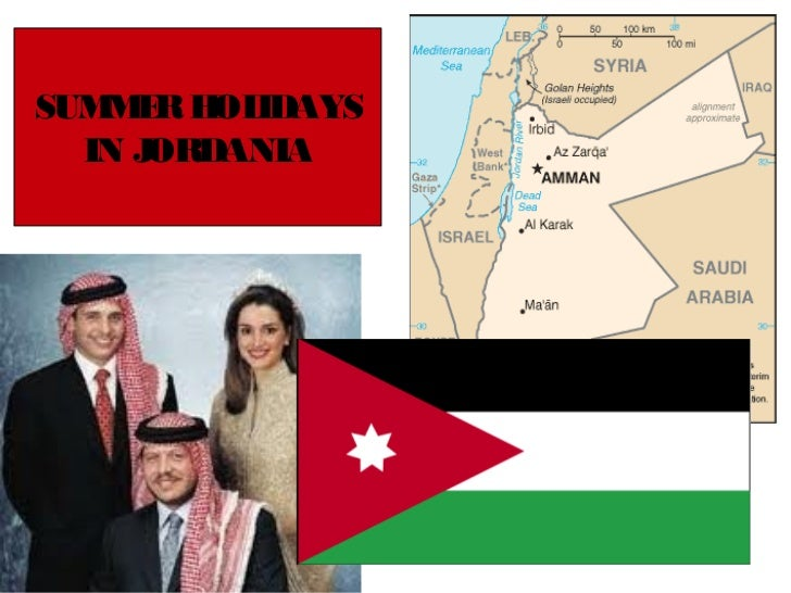 Summer holidays in Jordania