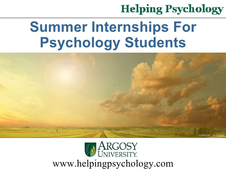 www.helpingpsychology.com 3528352461_4cbfacac6c Summer Internships For Psychology Students
