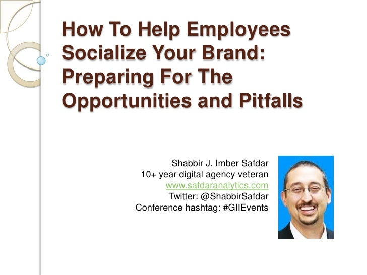 Help Employees Socialize Your Brand