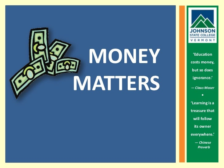 JSC Money Matters
