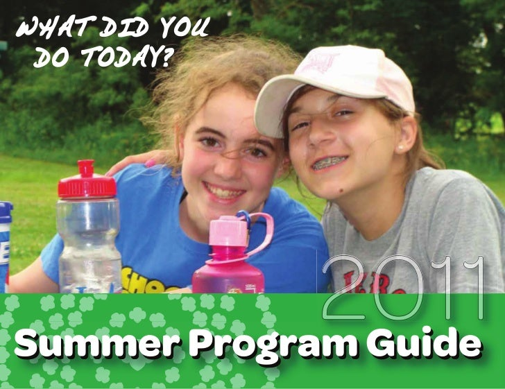 For more informationIf you have questions or need further details about any of the programs or camps listed in the Summer ...
