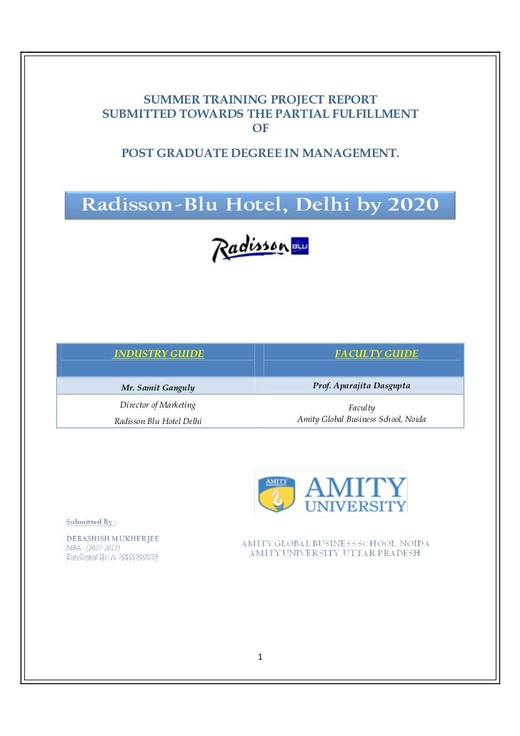 Radisson Blu Hotel Delhi By 2020