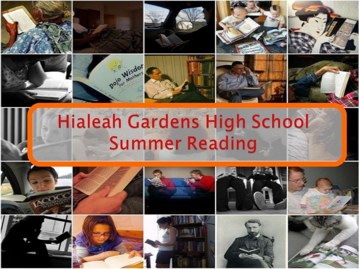 HGHS Summer Reading 2011-2012