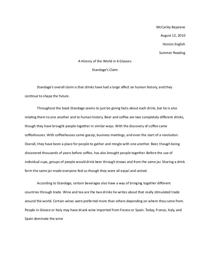 essay about reading