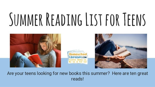 Teen Reading Lists 7