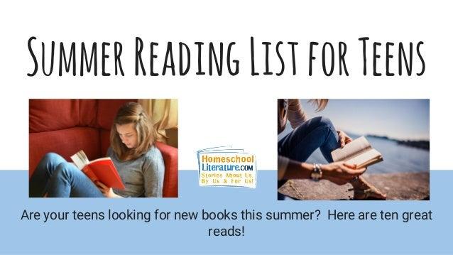 Teen Reading Lists 7