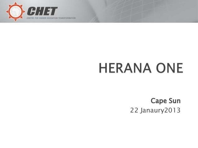 Cape Sun22 Janaury2013