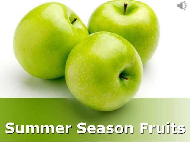 Summer Season Fruits
