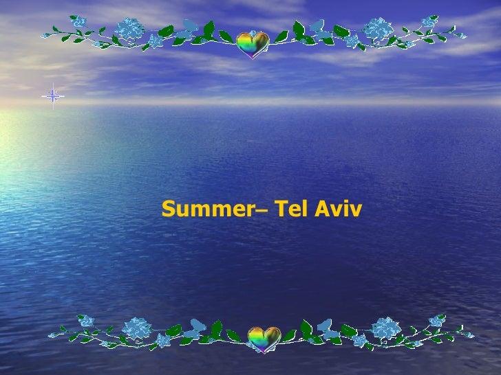 Summer Tel Aviv2003