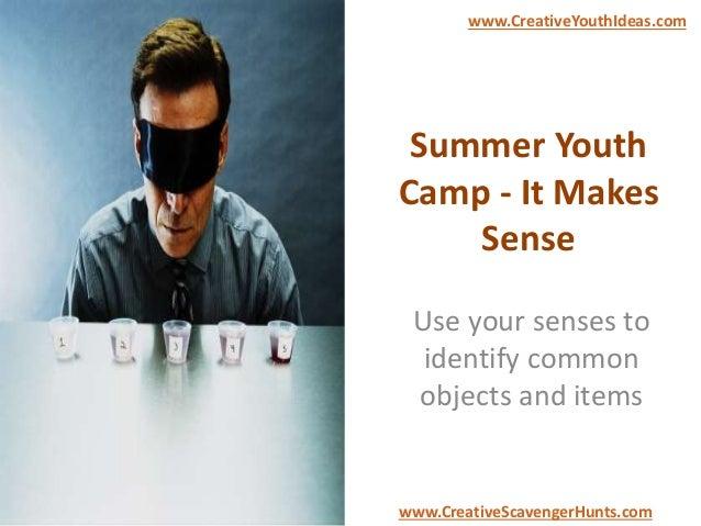 Summer Youth Camp - It Makes Sense