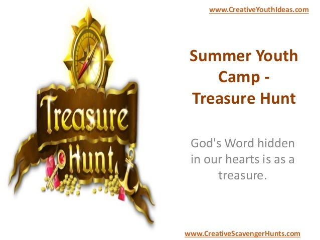 Summer Youth Camp - Treasure Hunt