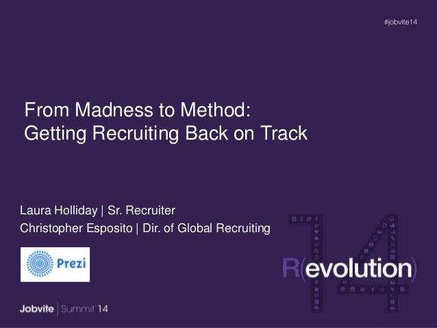 Summit14 -T3.1: Get Recruiting BackonTrack -PREZI
