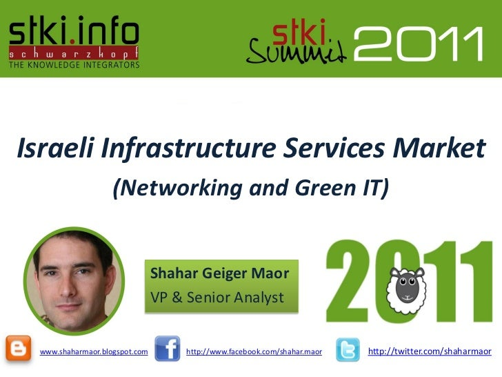 Summit 2011  trends in infrastructure services
