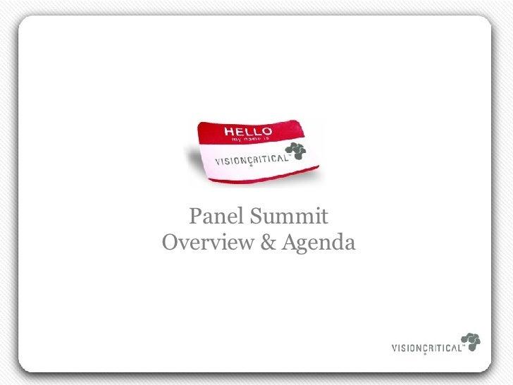 Panel Summit 2008