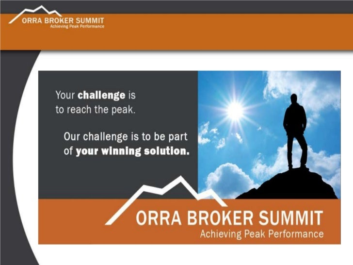 ORRA Broker Summit Presentation