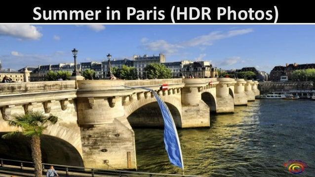 Summer in Paris (HDR Photos)