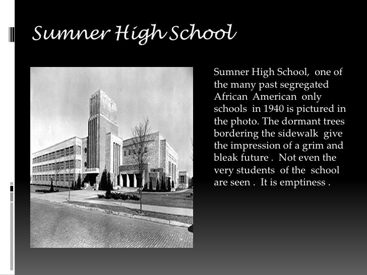 Sumner High School 2